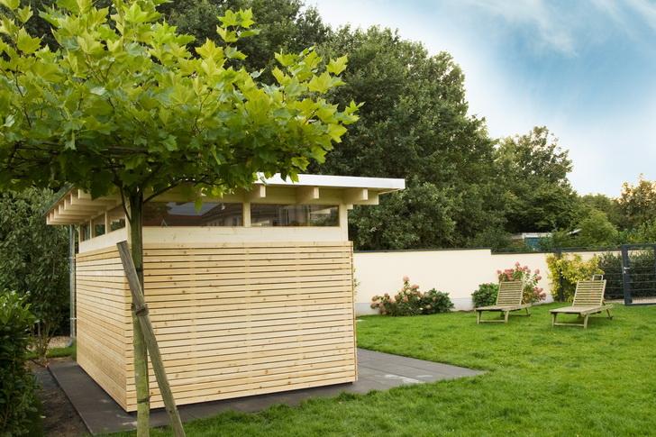 Design Gartenhaus Moderne Gartenhäuser Schicke Gartensauna ...